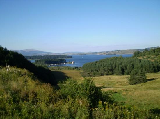Pogled na Vlasinsko jezero