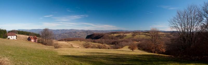 Tara:Omorika-Kaluđerske bare-Crnjeskovo-Borovo brdo-Jarevac-Omorika