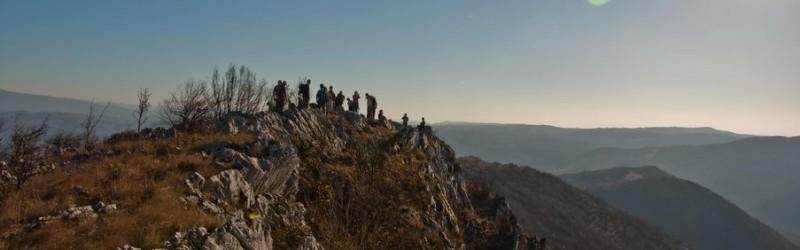 Ježevac grebenom Kozjeg grba (8 km)