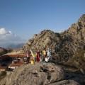 "Treskavec - vrh i manastir - slikano sa boldera ""Sfinga"""