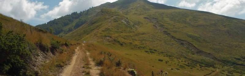 Na kraju grebena vrh Cemena